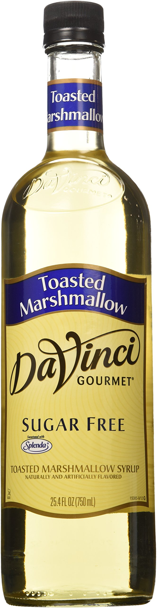 Da Vinci SUGAR FREE Toasted Marshmallow Syrup 750mL