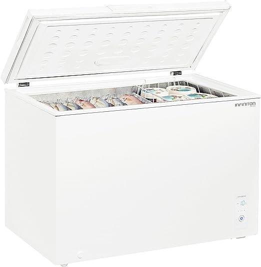 Congelador Arcón INFINITON Horizontal (Blanco) CH-420 MH - A+ ...