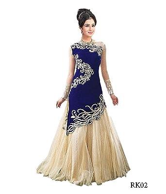 Nine Street Store Women\'s Heavy Long Gown: Amazon.in: Clothing ...