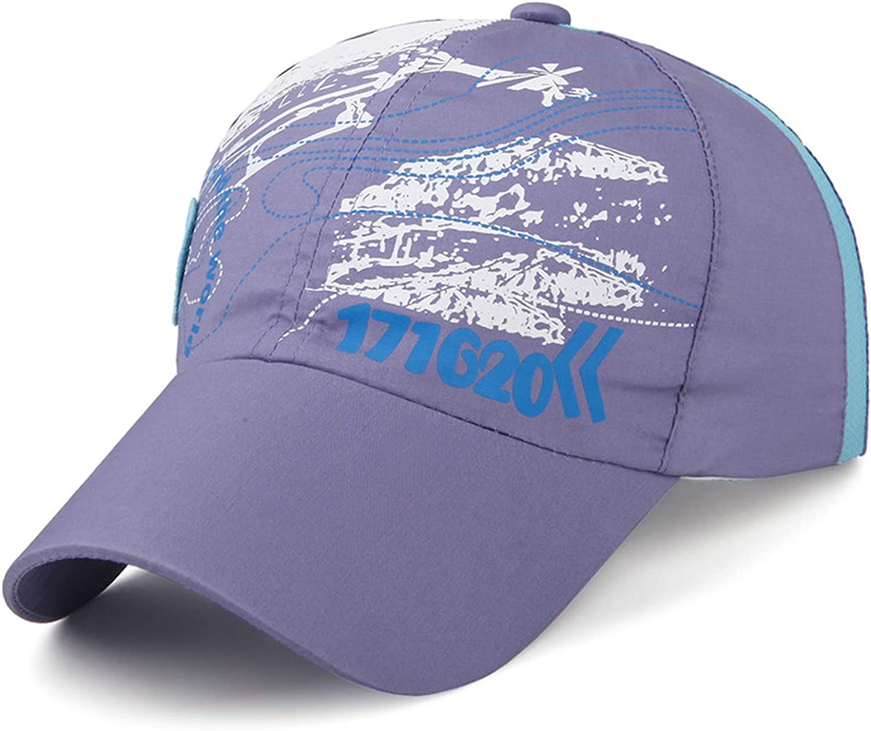 Summer Children Fast Dry Baseball Cap Breathable Boys Girls Kids Student Snapback Hat Mesh Cap Beach Sun Hat