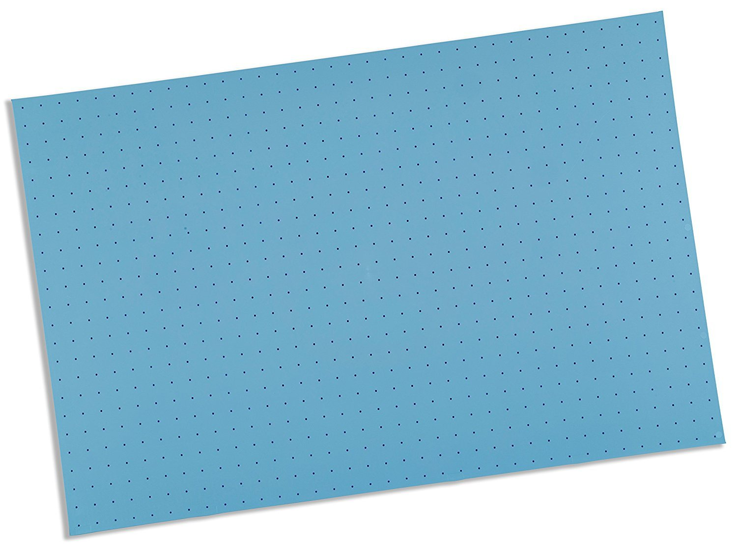 Rolyan Splinting Material Sheet, Ezeform, Blue, 1/8'' x 18'' x 24'', 1% Perforated, Single Sheet