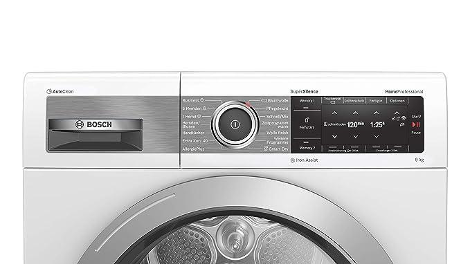 Bosch WTX87E40 Homeprofessional - Secador de bomba de calor (A+++ ...