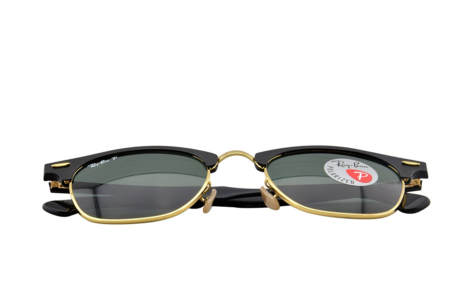 Ray-Ban Sonnenbrille CLUBMASTER ALUMINUM (RB 3507): Amazon.es: Ropa ...