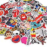 Vetroo Car Stickers Motorcycle Bicycle Luggage Laptop Decal Graffiti Patches Skateboard Bumper Stickers 100 PCS - Style A