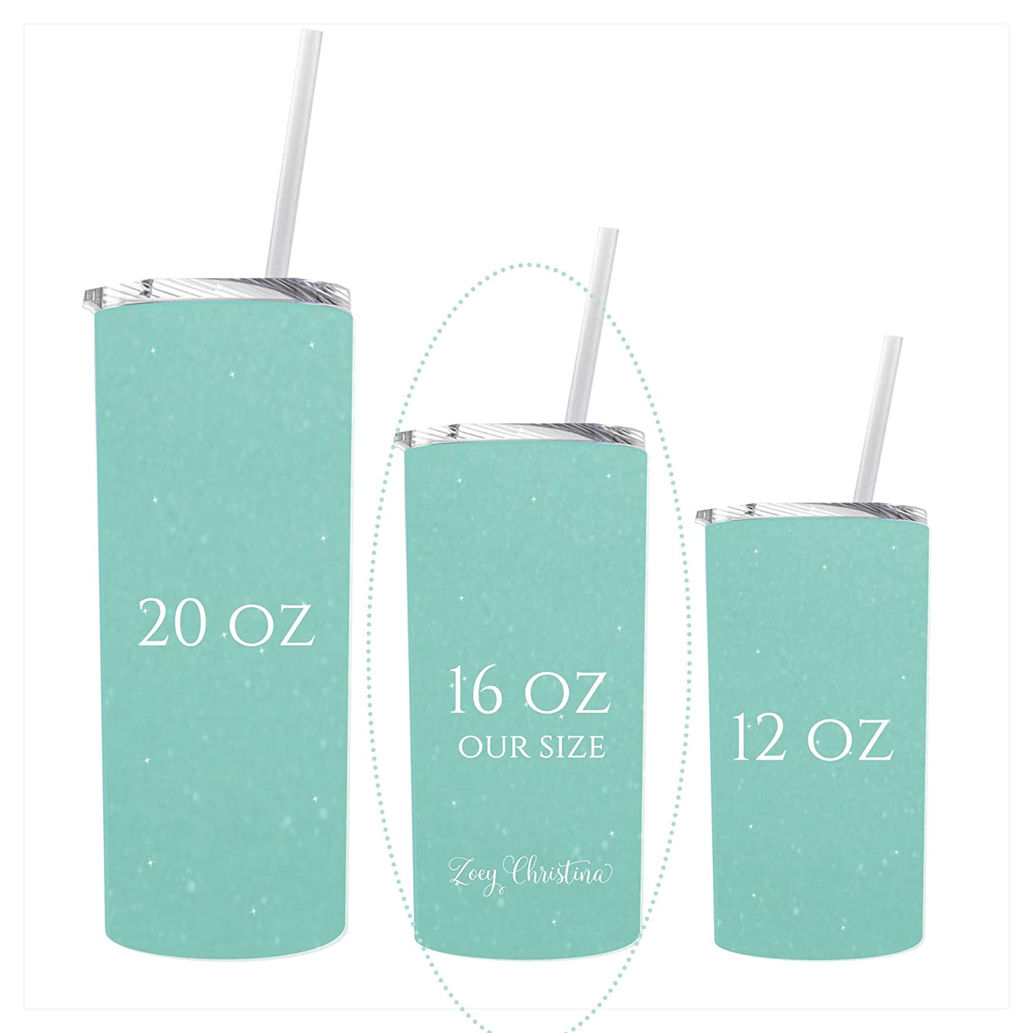 French Bulldog Birthday Gift For Women Frenchie Travel Tumbler or Coffee Mug for Girls bday With Lid and Straw Her Blue 0260