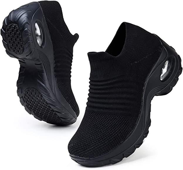HKR Slip Resistant Work Shoes for Women
