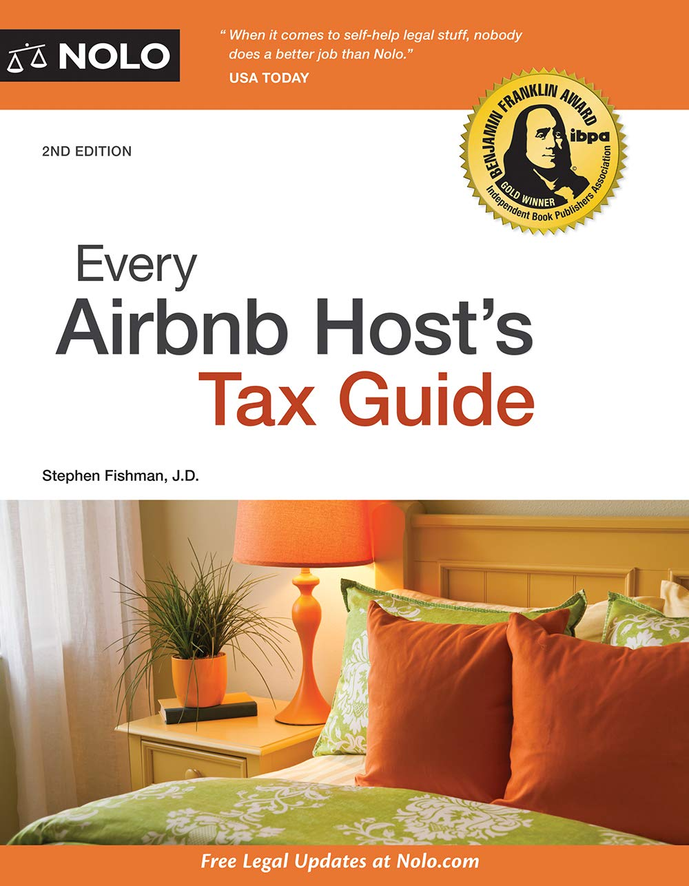 Every Airbnb Host's Tax Guide - front