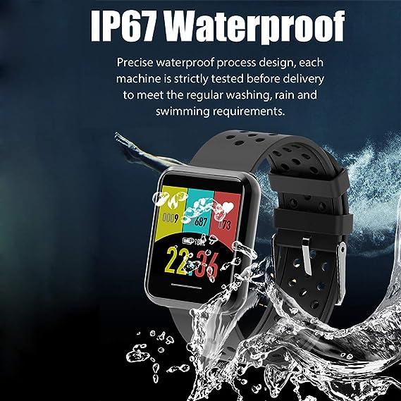 Amazon.com: KOSPET V12 reloj inteligente multifunción TFT ...