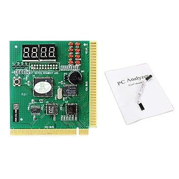Gugutogo Maikou PCI PC analizador de diagnóstico de Tarjeta de 4 ...