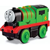 Fisher-Price Thomas & Friends Wooden Railway, Train, Percy - Battery Operated Train