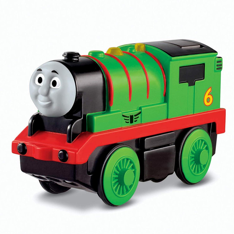Percy le train Thomas & Friends Locomotive Percy à Piles Trains en Bois
