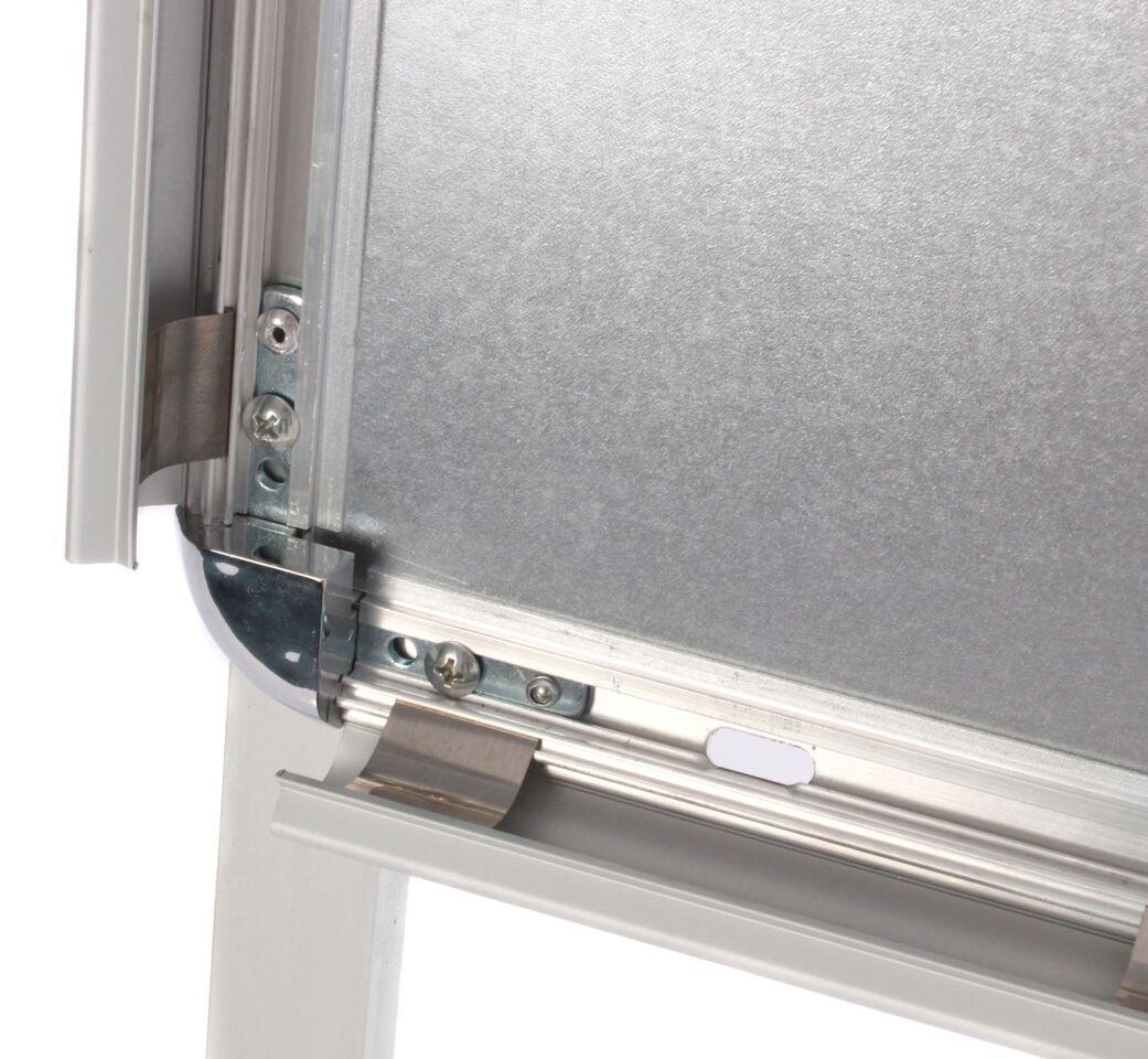 Deflecto A1/Aluminium Pflaster Display Board mit Snap Rahmen/ /Silber
