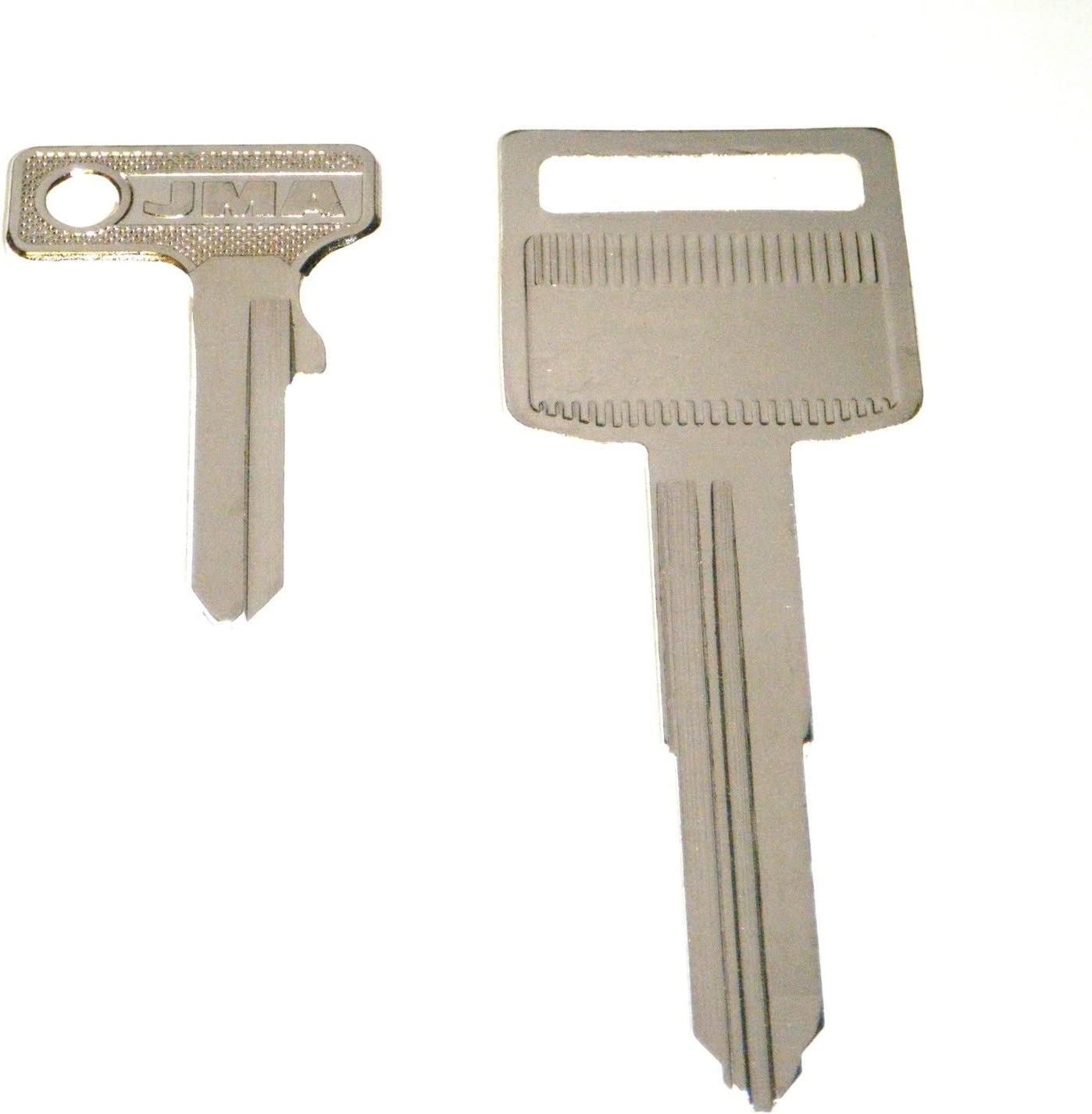 Replacement Key Blank Fits 1999 2000 2001 2002 2003 2004 2005 2006 2007 Victory
