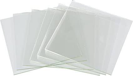 6-Pack Darice DIY Crafts Glass Tile Square 4 x 4 inches 4 pieces 1098-80 Bulk Buy