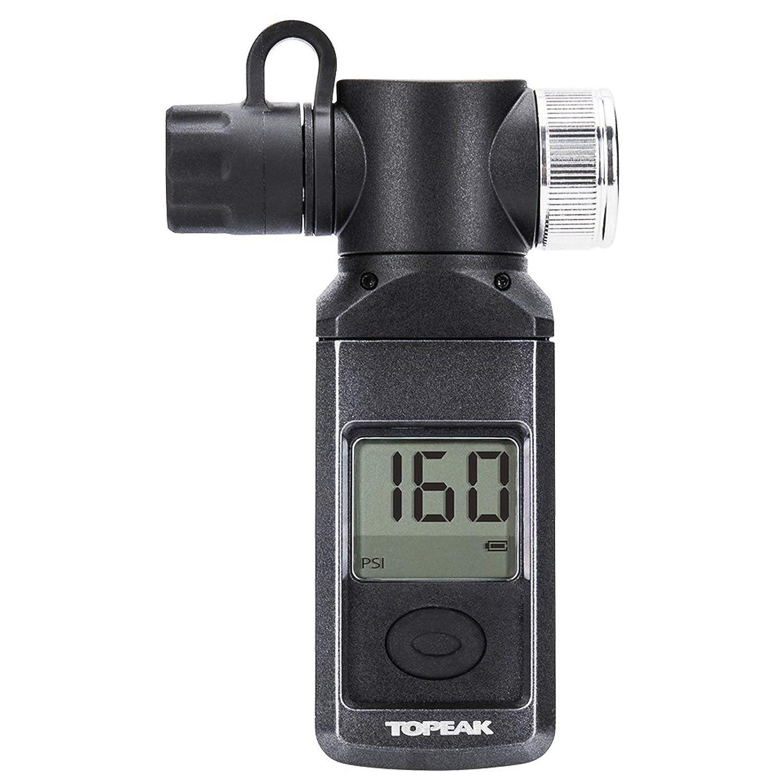 Topeak Shuttle Gauge Digital Manometer Fahrrad PKW Kompakt Luft Pumpe Presta Schrader Dunlop 15712012