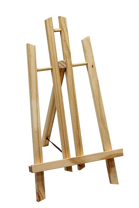 Cavalletto da tavolo o da esposizione, altezza 30 cm, in legno ...
