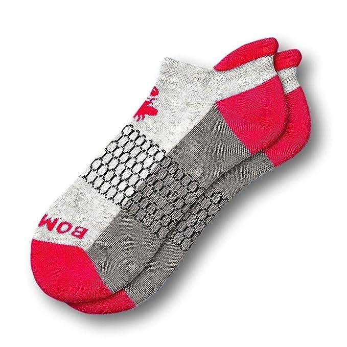 f6f71d6db43a2 Bombas Women's Marls Ankle Socks Grey/Pink