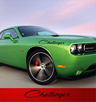 Amazon Com Dodge Challenger Body Decals Vinyl Stickers For Both