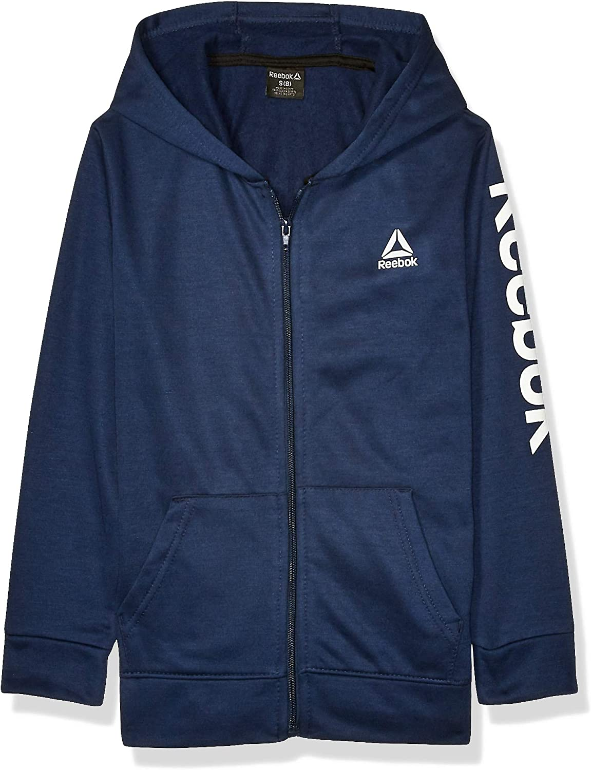 12 Zip Homme Sweat Marine Reebok