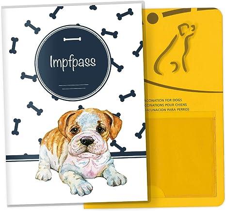 Funda para carné de mascotas de la UE, bonita funda para regalo ...