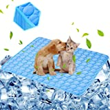 aingycy Dog Cooling Mat Pet Cooling Pads Dogs & Cats Pet Cooling Blanket for Outdoor Car Seats Beds