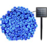 Lalapao Solar String Lights Halloween Outdoor Decor 72ft 200 LED 8 Mode Solar Powered Fairy Lights Waterproof for Indoor…