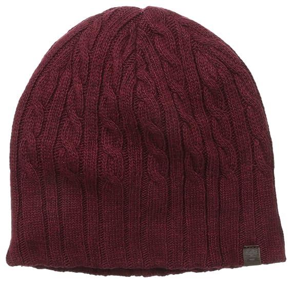 6780f120bc5 Amazon.com  Haggar Men s Cable Knit Beanie