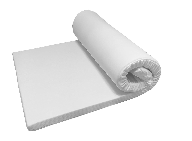 Nova Sleep Topper 120x200 cm Kaltschaum Topper mit Kernhöhe 6 cm, Gesamthöhe 7 cm, RG 30m³, 200 gramm. Klimawatte Basic Art. Nr. 17-H6-BA-120