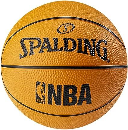 Spalding NBA - Mini pelota de baloncesto, color naranja, tamaño 1 ...
