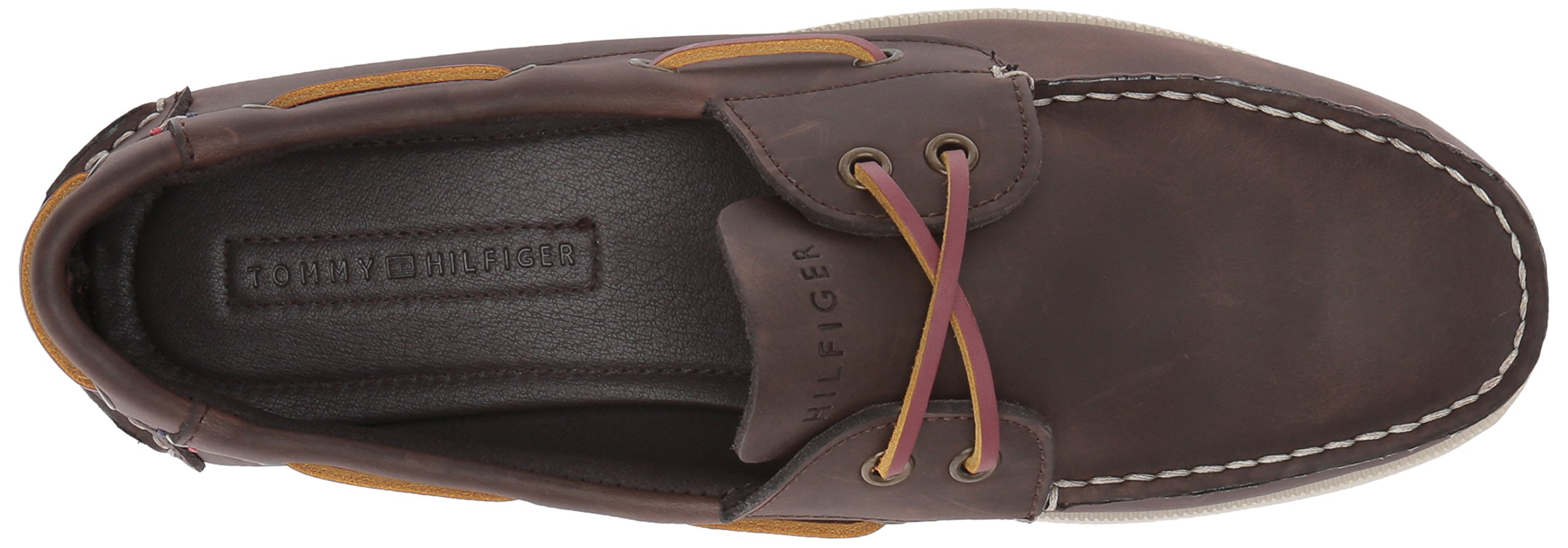 Tommy Hilfiger Men's Bowman Boat shoe,Coffee Bean,8.5 M US by Tommy Hilfiger (Image #8)