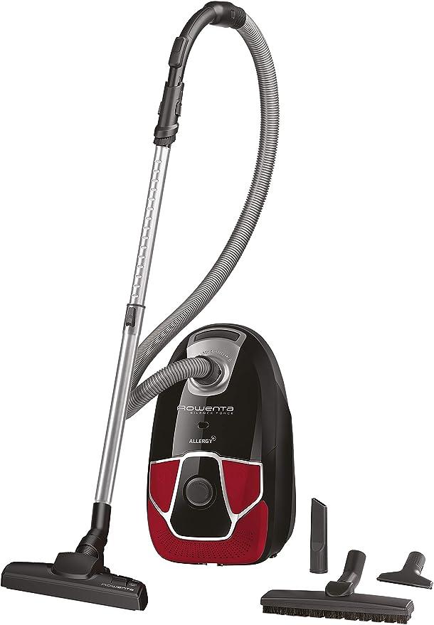 Rowenta Silence Force Parquet/Aspirateur avec Sac Silencieux Performant Capacit/é XL 4,5L Accessoires /& Rowenta ZR200520 Sac Haute Filtration Hygiene Boite de 4 unit/és Blanc Optimal