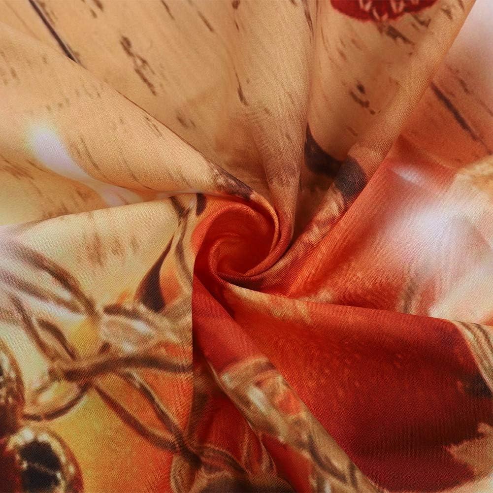 Arazzo a Tema Natalizio Anello di Natale Camera da Letto Soggiorno Decorazione Appeso a Parete Coperta Arazzo di Natale 150x150 cm