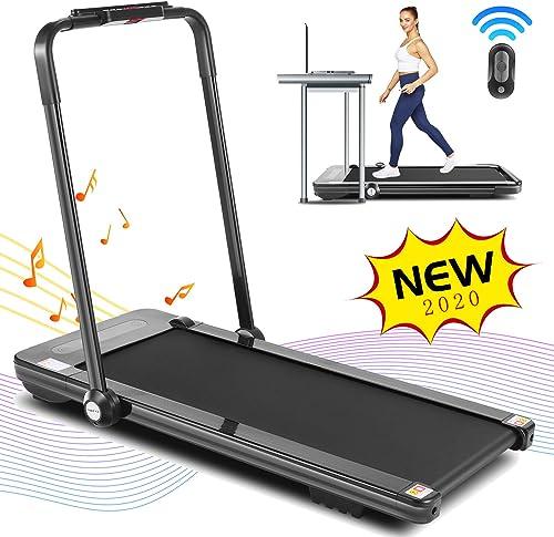 FUNMILY Folding Treadmill
