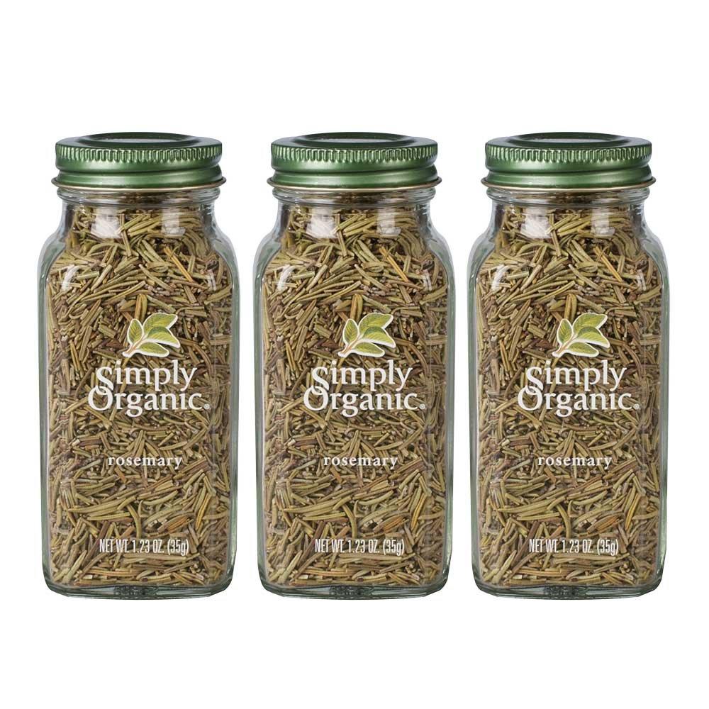 Simply Organic Rosemary   Certified Organic   1.23 oz. (3 Pack)