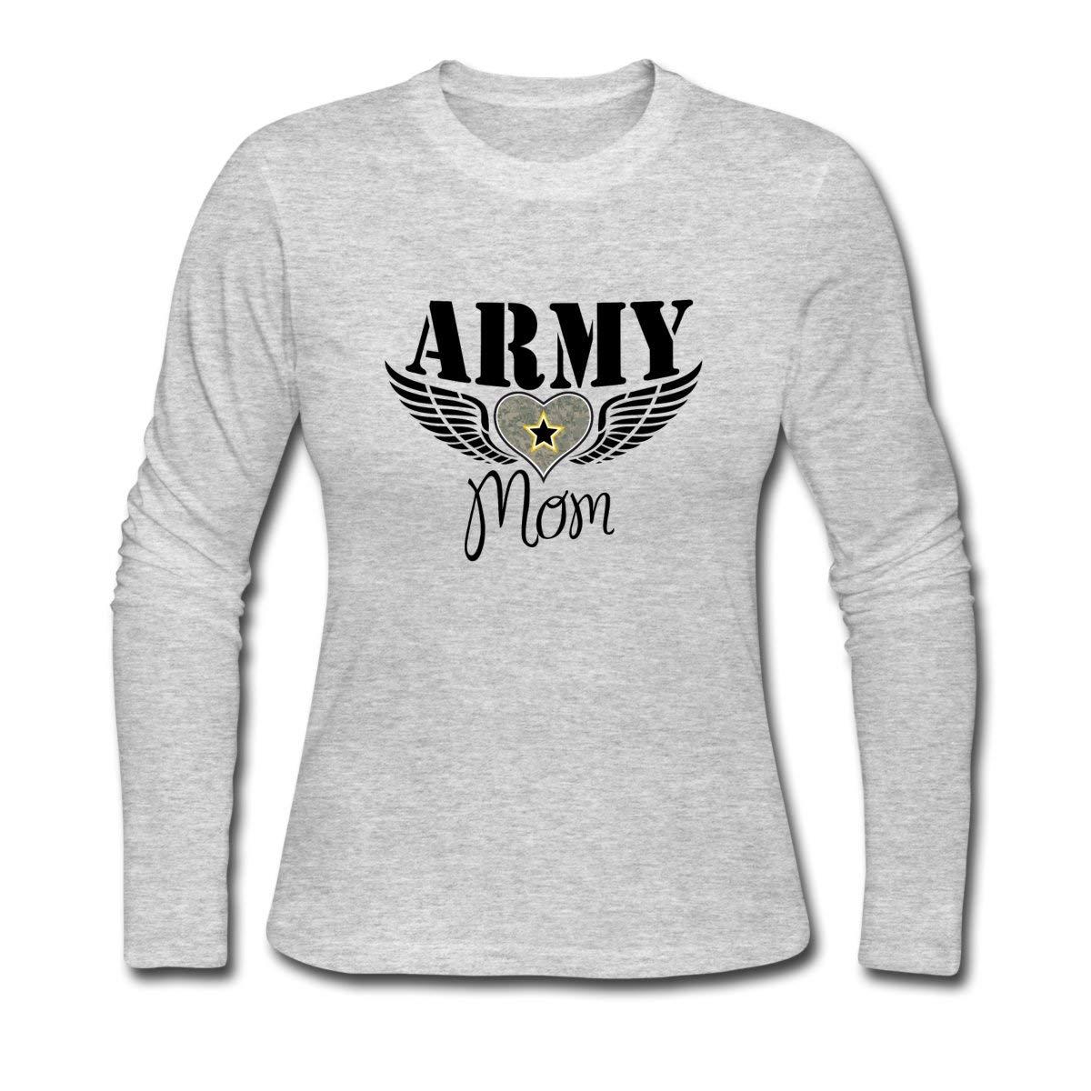 Spread Army Mom Winged Heart Shirts