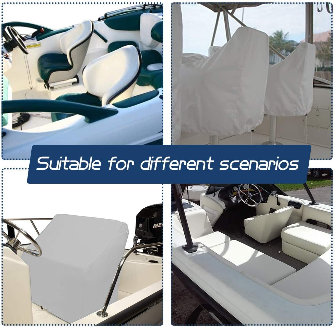 Captain/'s chair UV protection boat waterproof fishing protection boat seat cover