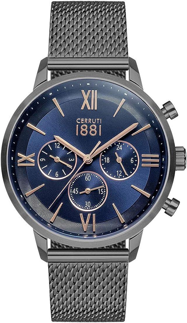 Cerruti 1881 CRA23404 Reloj de Pulsera para Hombre Nuevo y Original
