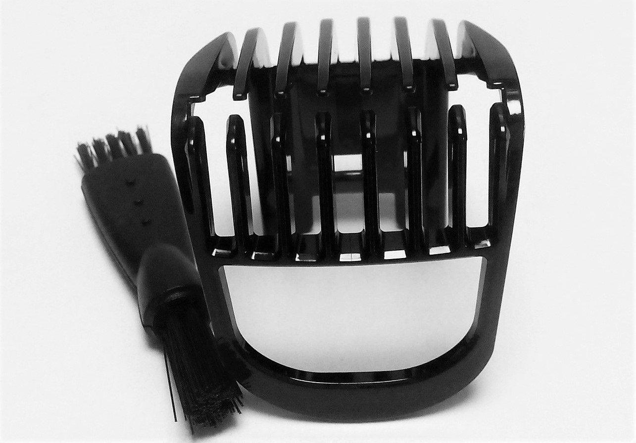 Cortador de Pelo PEINE Pequeño HAIR CLIPPER COMB Shaver Para PHILIPS QT4000 QT4001 QT4002 QT4004 QT4005 QT4006 QT4007 QT4011 Plastic Trimmer Recortadora Small Comb clipper Head Accessories Negro Nuevo generic