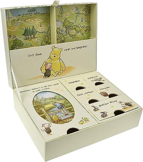Disney Clásico Pooh Recuerdos Bebé Caja con Compartimentos Nuevo (DI167): Amazon.es: Bebé