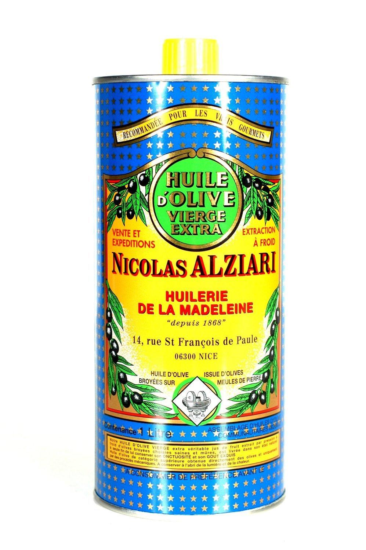 amazon com nicolas alziari extra virgin olive oil 34 fl oz 1l
