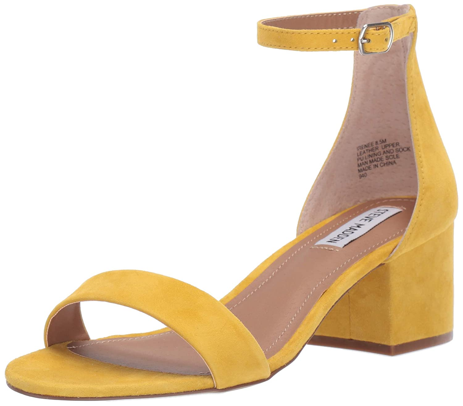 【全商品オープニング価格 特別価格】 Steve Madden M Strap Womens Toe Irenee Open Toe Formal Ankle Strap Sandals B07K31CSGF 10 M US|ひまわり(Sunflower) ひまわり(Sunflower) 10 M US, 射水郡:a121be53 --- en.mport.org