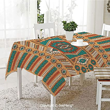 Amazon Com Spring And Easter Dinner Tablecloth Kitchen Table