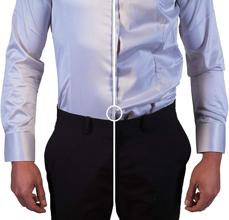 Pejoye - 1 par de tirantes ajustables para camisa de hombre ...