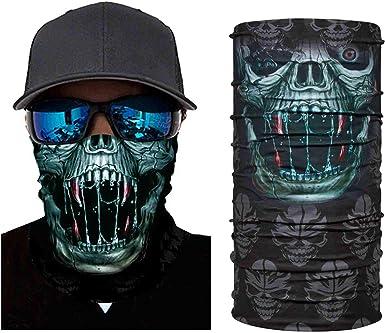 Sports Seamless Tube Headwear Bandana Scarf Multifunctional Elastic Neckwarmer for Yoga Hiking Riding Motorcycling