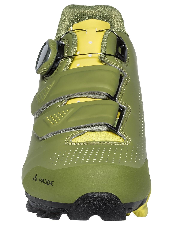 VAUDE MTB Snar Advanced, Zapatillas de Ciclismo de Carretera Unisex Adulto 47 EU|Verde (Holly Green 791)