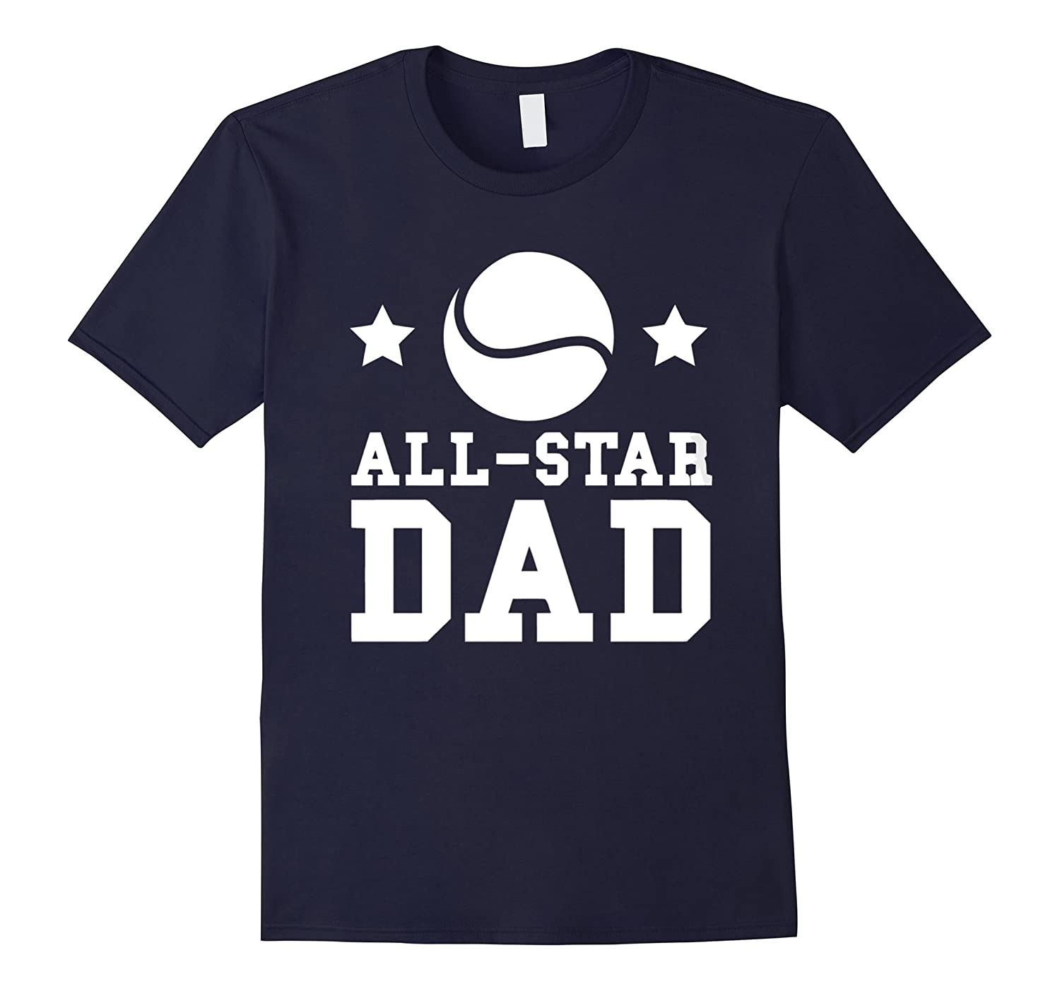ALL STAR DAD T SHIRT FATHERS DAY GIFT-Vaci