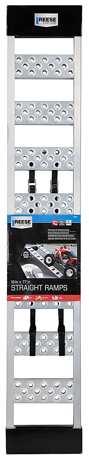 Straight Ramp Pair Sport XL Ramp Reese Explore 7453700 77 Inches