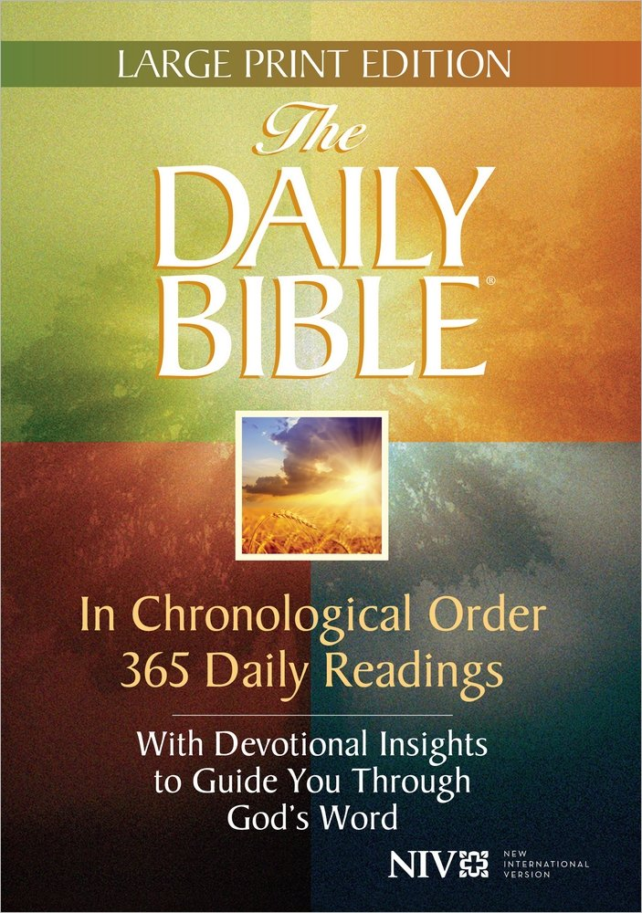 Daily Bible Large Print product image