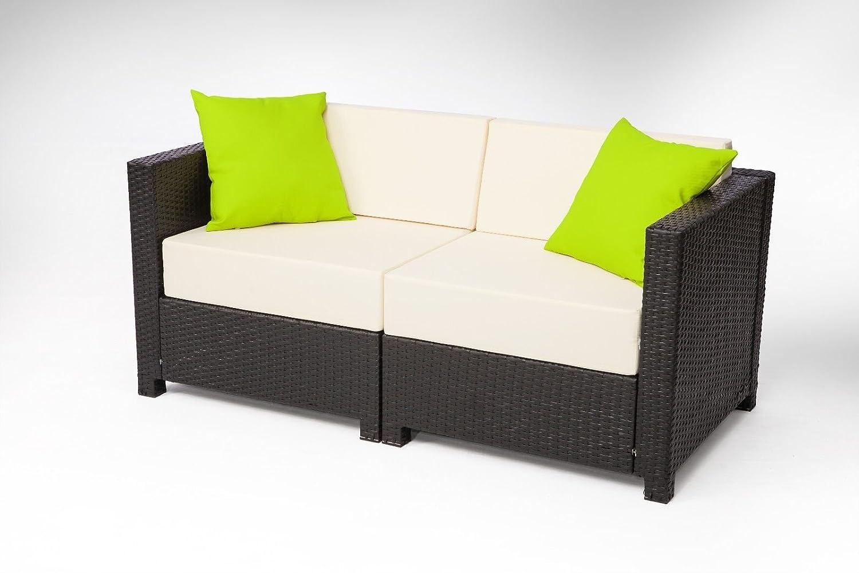 Amazon.com: Exacme 5-Piece Wicker Patio Sectional Sofa Set (OF ...