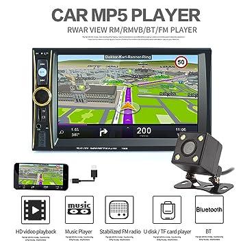 benwei 6,6 pulgadas 2 Din coche estéreo reproductor mp5 teléfono/Tablet con GPS